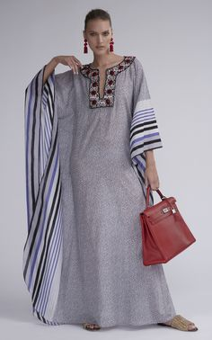 Get inspired and discover The Modern Caftan Collection trunkshow! Shop the latest The Modern Caftan Collection collection at Moda Operandi. African Maxi Dresses, African Fashion Ankara, African Print Fashion, African Attire, African Wear, Abaya Fashion, Couture Fashion, Boho Fashion, Kaftan Designs