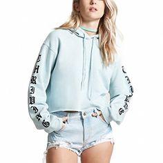 XTX Womens Stylish Hoodie Drawstring Fleece Spell Color Sweatshirts Jacket