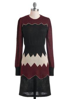Mountain Panorama Dress - Mid-length,