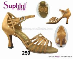 multi strap high heel ladies beautiful latin salsa dance shoes