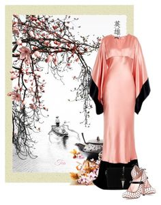 """Asian Art"" by flowerchild805 ❤ liked on Polyvore featuring art"
