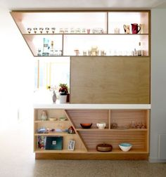 Select Custom Joinery | Bamboo and recycled timber kitchen with ...