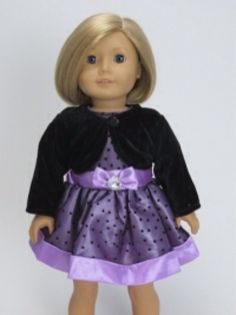 American Girl Doll Dress with Jacket