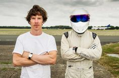 Benedict Cumberbatch At His Benedict Cumberbatchiest on Top Gear