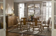 dining room very pretty love the windows and light fixture and the doors