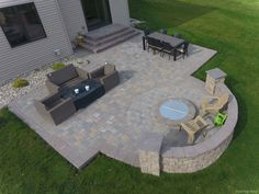 Awesome 76 Stunning Backyard Patio Ideas Pavers Walkways https://lovelyving.com/2017/12/24/76-stunning-backyard-patio-ideas-pavers-walkways/