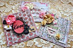 Manor House Creations - Romantic Shabby Chic Card Set