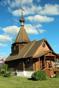 Wooden Church Of Belarus..