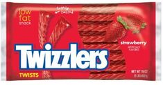 Amazon.com : TWIZZLERS Twists, Strawberry Flavored Licorice Candy, 16 Ounce Bag (Pack of 6) : Grocery & Gourmet Food
