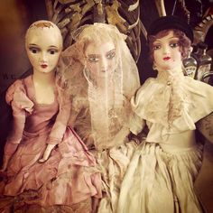 1920's and 30's dolls.