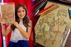 Comment dessiner Luna et Mattéo de Soy Luna sur kraft?