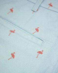 Magnum Flamingo printed shorts