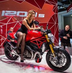 Ducati Monster 1200S - #EICMA