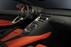 Lamborghini Aventador Interior  www.fhdailey.com