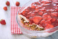 Erdbeer Brezel Dessert Einfach und schnell genießen. Crowdfeeder