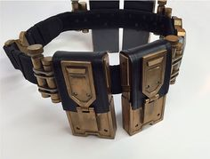 Die-hard Batman Fan in your life? DIY Batman Arkham Knight Utility Belt. A little bit of casting, and some metallic spray paint - there you have it! http://www.rustoleum.com/product-catalog/consumer-brands/american-accents/designer-metallic-spray/