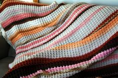 Great Warm Pattern.  Suburban Jubilee: Waffle Crochet Tutorial - From Blankets to Dishcloths