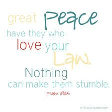Psalm KJV Great peace have they which love thy law: and nothing shall offend them. Peace Of God, Word Of God, Psalm 119, Psalms, Train Up A Child, Faith Walk, Prayer Box, Perfect Word, Gods Promises