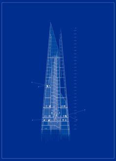 The Shard in London by Renzo Piano