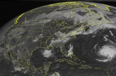 Hurricane Leslie will be making big waves on the coast...