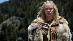 Shield maiden. (Kristanna Loken, who I always thought would make a great model for Cymalyn)