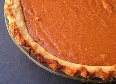 Sweet Potato Pie! Delicious will be making it again for Christmas. (used less sugar)