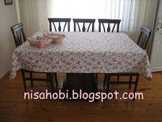 Nisa hobi: Anlatımlı Masa Örtüsü Dikimi