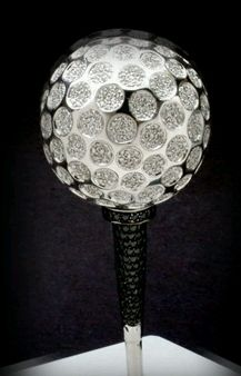 Diamond golf ball 12
