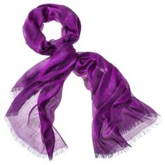 Merona® Lurex Scarf - Purple