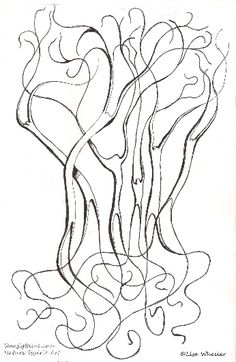 Photo 10 of 12 in Spirit Trees Creative Artwork, Trees, Spirit, Printables, Abstract, Creative Art, Summary, Tree Structure, Print Templates