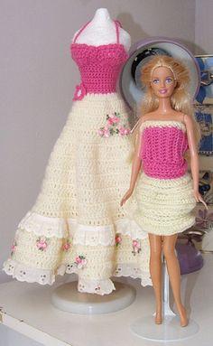 159 Beste Afbeeldingen Van Barbie Kleertjes Haken Baby Doll