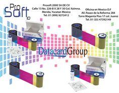 1.- #Ribbon de color #YMCKTKT + kit de limpieza *300 impresiones *Reemplaza al 552845-506 *Para impresion a doble cara  2.-Ribbon de #color #YMCK + kit de limpieza *500 impresiones *Reemplaza al 552845-502  3.-Ribbon de color #YMCKFKT+ kit de limpieza *300 impresiones *Reemplaza al 522854-514 *Para impresion a doble cara  4.- Ribbon de color #YMCKT + kit de limpieza *125 #impresiones *Reemplaza al 552845-004 *Para la impresora Datacard Series SP*