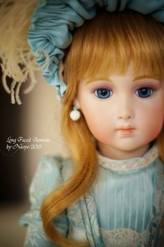 Long faced Jumeau. FB-16. I made this doll in 2013.