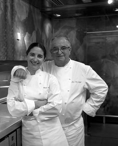 Juan Mari Arzak and his daughter Elena ~ Restaurante Arzak, SPAIN...