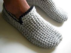 Cadeau pour hommes chaussons pantoufles pour par UnaCreations