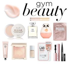 """Beauty"" by heckmannata ❤ liked on Polyvore featuring beauty, Chanel, Fresh, Etude House, Jouer, Dolce&Gabbana, Bobbi Brown Cosmetics, Tony Moly, Too Faced Cosmetics and Pink"