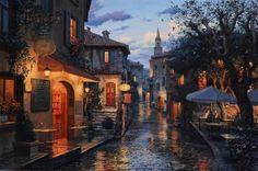 Evgeny Lushpin, pittore russo nato nel 1966 a Mosca. I suoi quadri sono famosi in tutto il mondo e i suoi soggetti prediletti sono i pa...