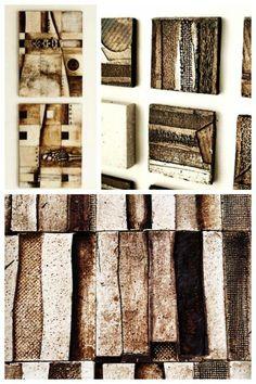 Texturas #murales #hechoentrestierras #arte #cerámica