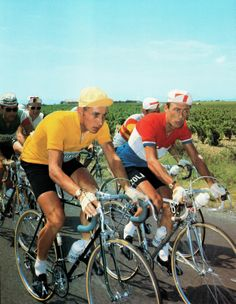 Jacques ANQUETIL et Charly GAUL