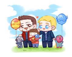 I know this is about #superfamily BUT LOOK AT ULTRON AND VISION. OMG THEY'RE SO CUTE