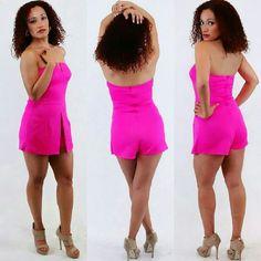 S M L pink romper Pink romper s m l Pants Jumpsuits & Rompers