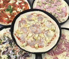 Φτιάξε την πιο εύκολη λεπτή ζύμη για πίτσα με 4 υλικά Quiche, Food And Drink, Breakfast, Morning Coffee, Quiches