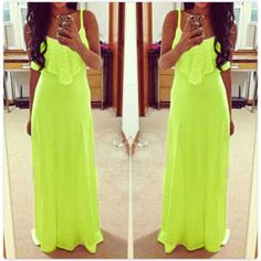 Summer Bandage Lace Maxi Dress. I GOTTA HAVE THIS DRESS IN THIS COLOR!!!