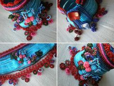 Sidalcea Malviflora ... Freeform Crochet by irregularexpressions