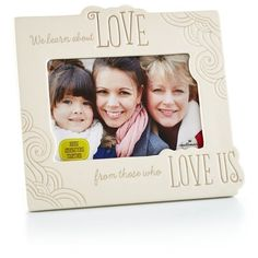 Generations Ceramic Picture Frame, 4x6