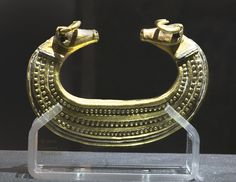 Celtic gold arm band from Transylvania ,Roman period