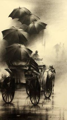 artist, Ajay De's charcoal drawings & paintings. Indian artist, Ajay De's charcoal drawings & paintings. Indian artist, Ajay De's charcoal drawings & paintings. Charcoal Paint, Charcoal Sketch, Charcoal Drawings, Pencil Art Drawings, Art Drawings Sketches, Easy Drawings, Hipster Drawings, Couple Drawings, Art Illustrations