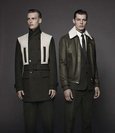 The Dior Homme Les Essentiels Line Meshes Fatigues with High Fashion #menswear trendhunter.com