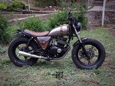 Suzuki GN250 #suzuki #gn250 #bike #ride #bratstyle #motorcycles