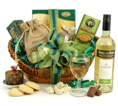 Win a white wine hamper from Hampergifts for Mother's Day